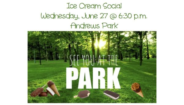 Ice Cream Social at Andrews Park