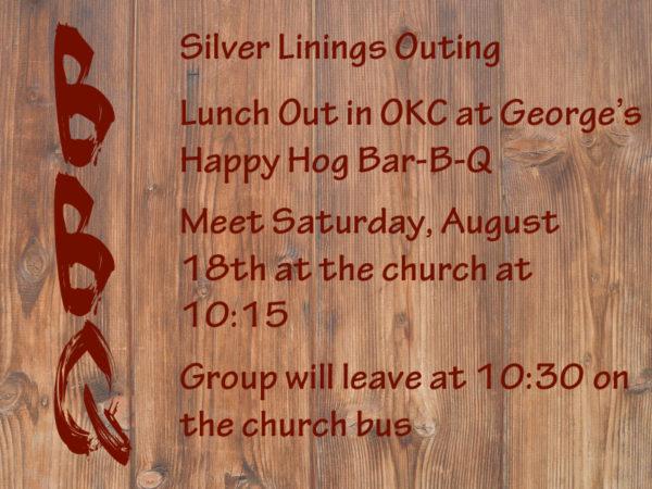 Silver Linings Bar-B-Q Outing