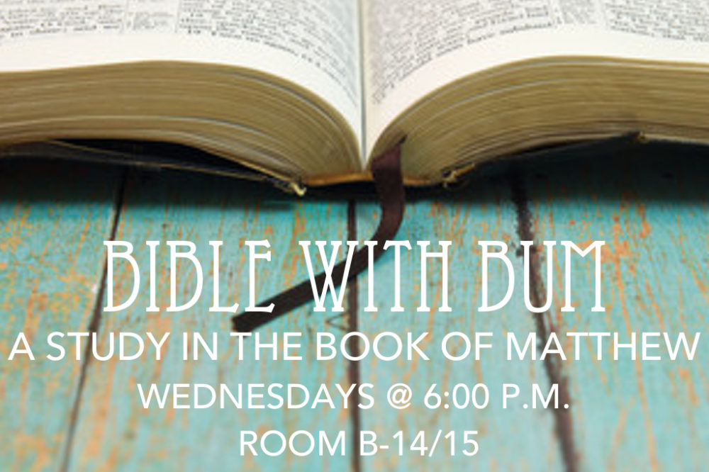 Bible With Bum