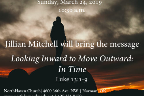 Looking Inward To Move Outward: In Time