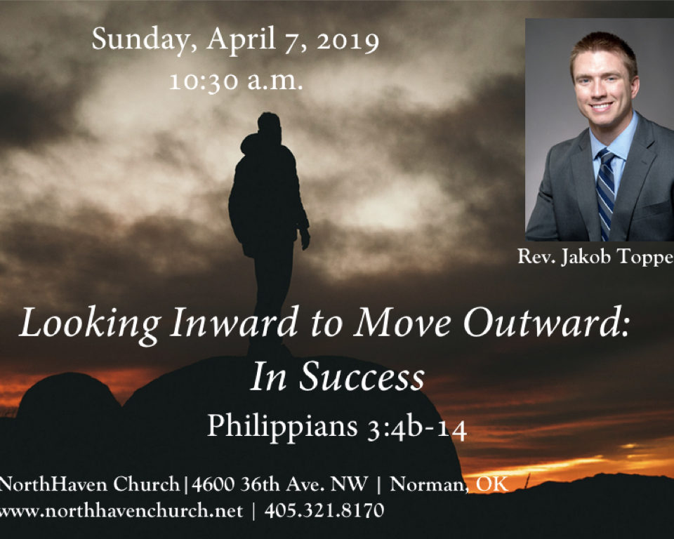 Looking Inward To Move Outward: In Success