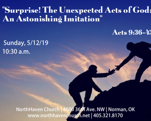 Surprise! The Unexpected Acts of God: A Surprising Turnaround