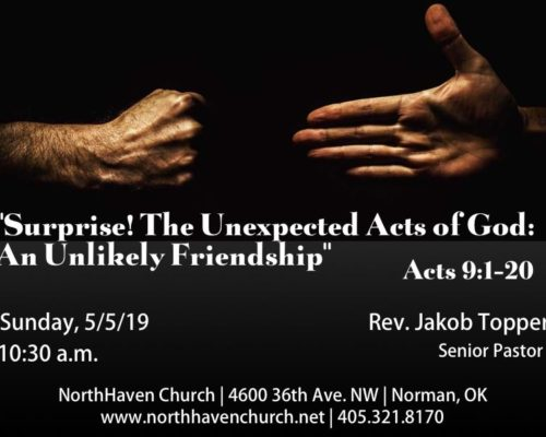 Surprise! The Unexpected Acts of God: An Unlikely Friendship