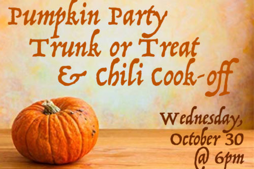 Pumpkin Party & Chili Cook-off