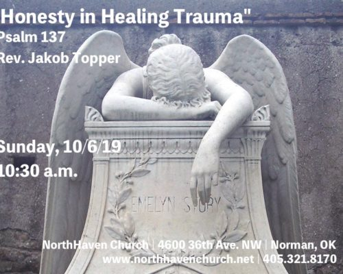 Honesty in Healing Trauma