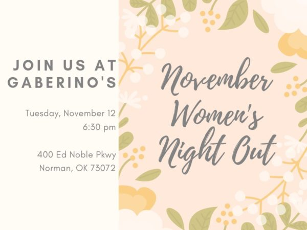 November Women's Night Out