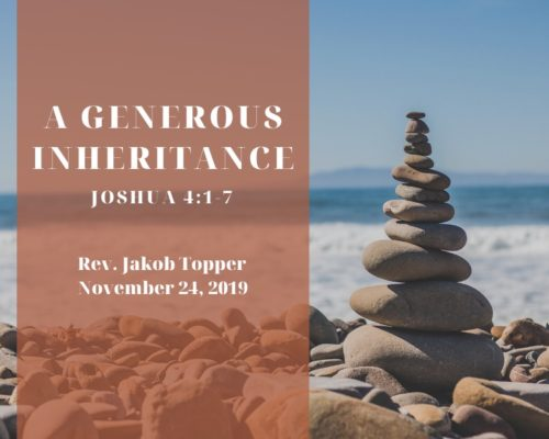 A Generous Inheritance