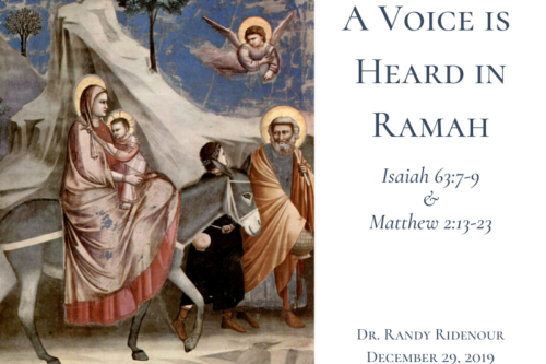A Voice Is Heard In Ramah