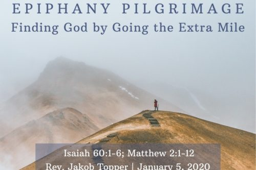 Finding God By Going The Extra Mile