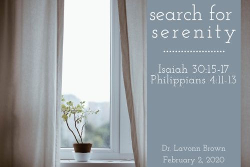 Search for Serenity