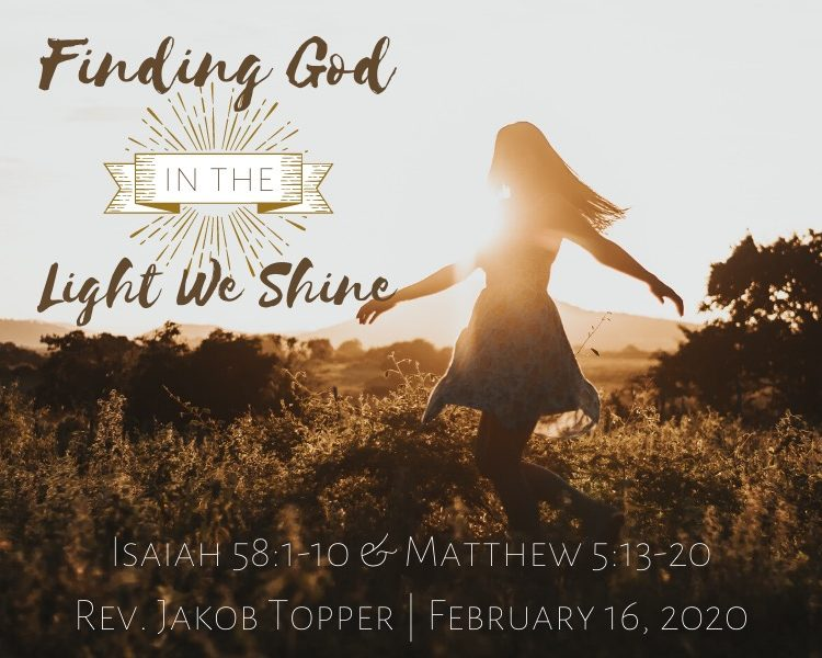 Finding God In The Light We Shine
