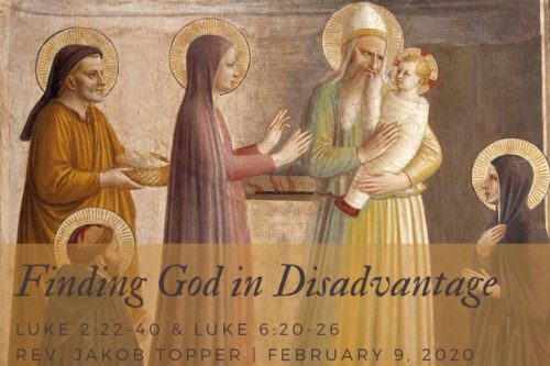 Finding God In Disadvantage