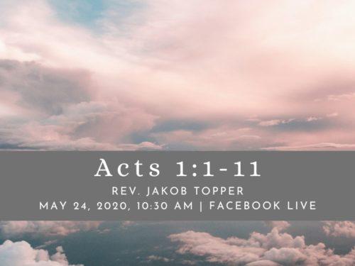 5/24/20 Virtual Worship