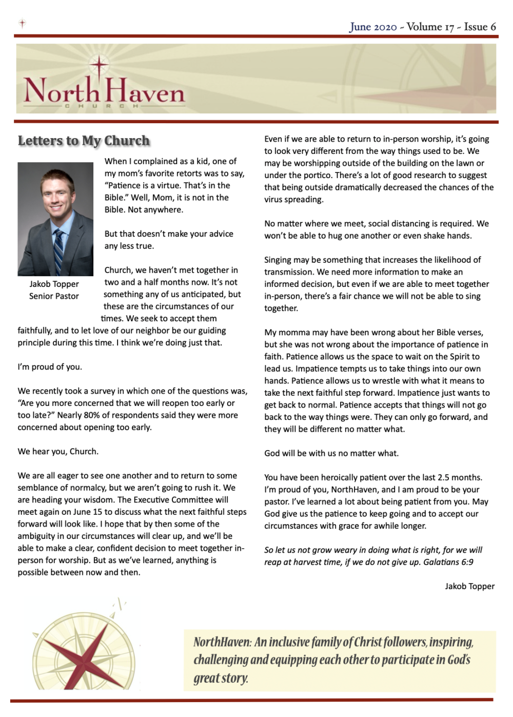 June 2020 Newsletter