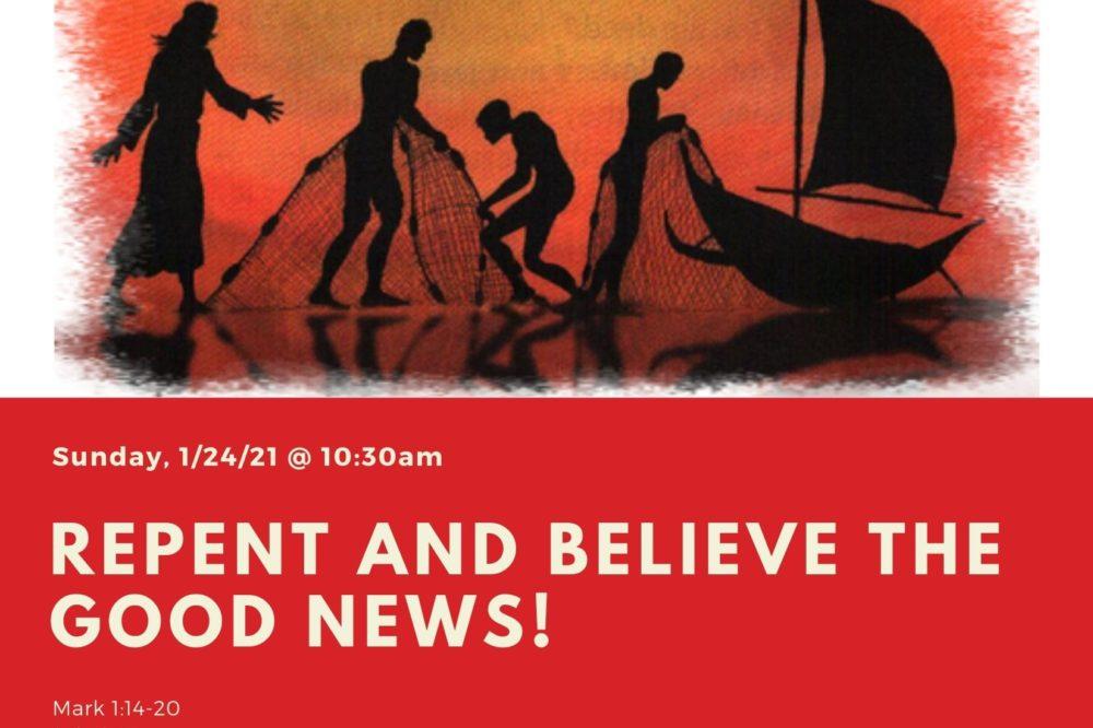 Virtual Worship 1/24/21 @ 10:30 a.m.