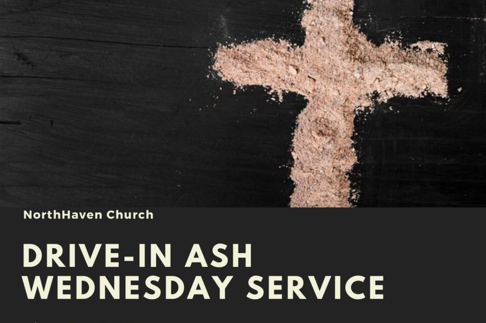 Drive-In Ash Wednesday Service