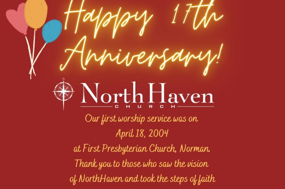 Happy Anniversary NorthHaven!