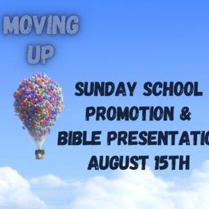 Sunday School Promotion