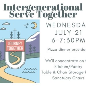 Intergenerational Service Night