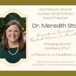 Sunday, October 24 @ 10:30am