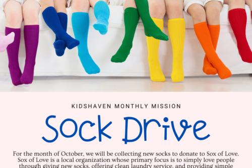 KidsHaven October Mission Project